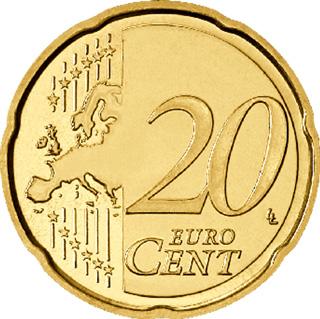 20 Cent Münze