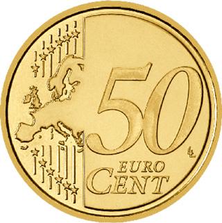 50 Cent Münze