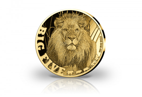 Goldmünze Afrikanischer Löwe 2020