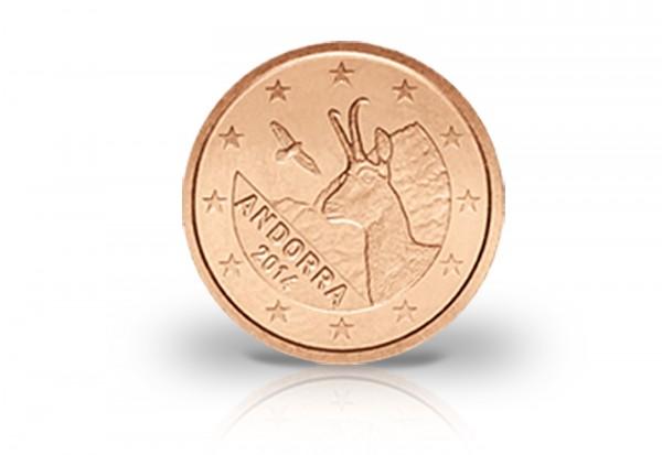 1 Cent und 2 Cent 2014 Andorra