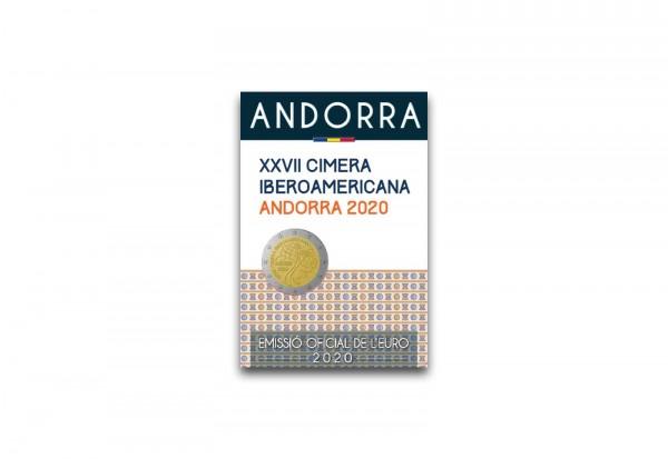 2 Euro 2020 Andorra XXVII. Iberoamerika-Gipfel st im Blister