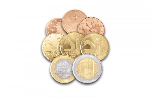 Eurosatz Jahrgang unserer Wahl Andorra