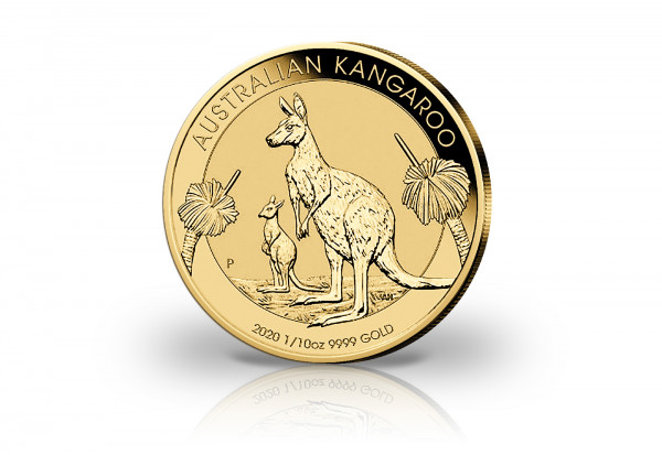 Känguru 1/10 oz Gold 2020 Australien