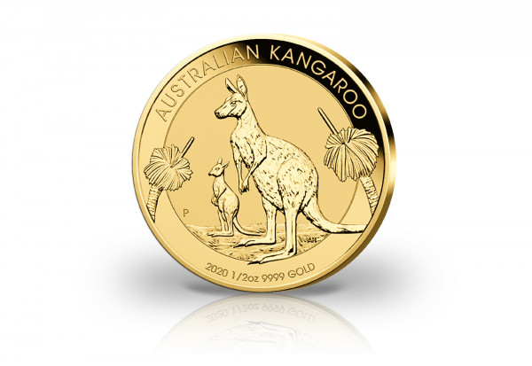 Känguru 1/2 oz Gold 2020 Australien