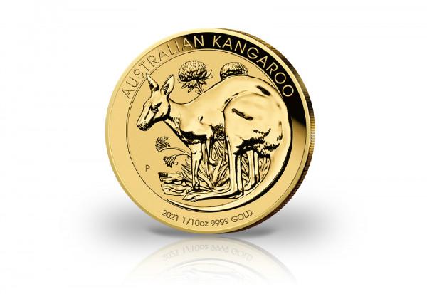 Känguru 1/10 oz Gold 2021 Australien