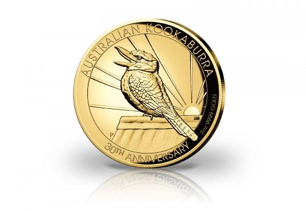 Kookaburra 2 oz Gold 2020 Australien PP im Etui