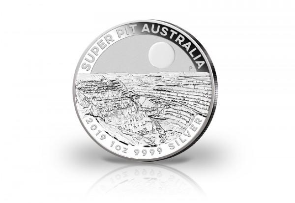 Super Pit 1 oz Silber 2019 Australien