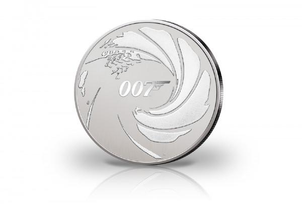James Bond 1 oz Silber 2020 Tuvalu