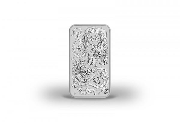 Drachen 1 oz Silber 2020 Australien Dragon Rectangle