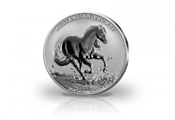 Wildpferd 1 oz Silber 2020 Australien
