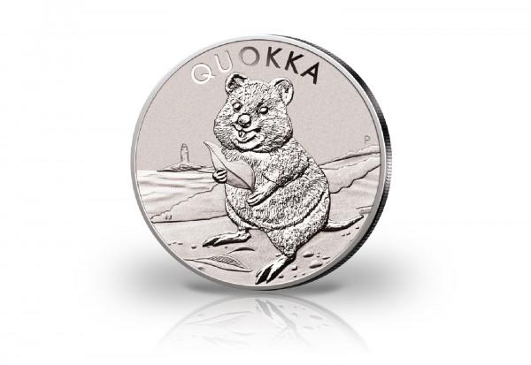 Quokka 1 oz Silber 2020 Australien