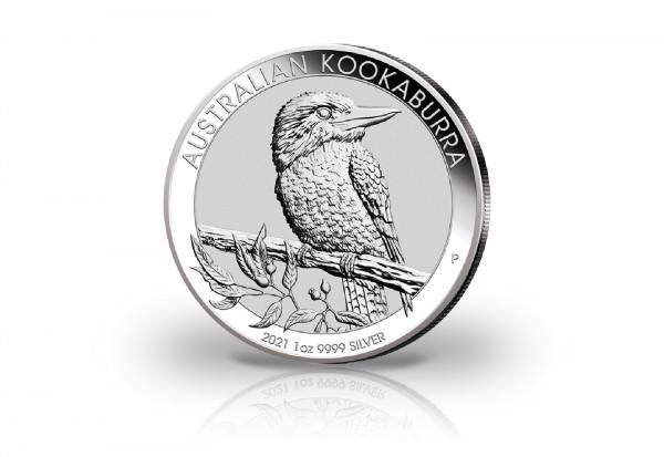 Kookaburra 1 oz Silber 2021 Australien
