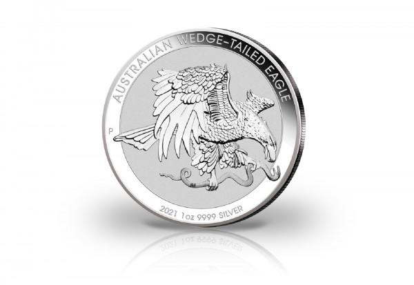 Wedge Tailed Eagle 1 oz Silber 2021 Australien