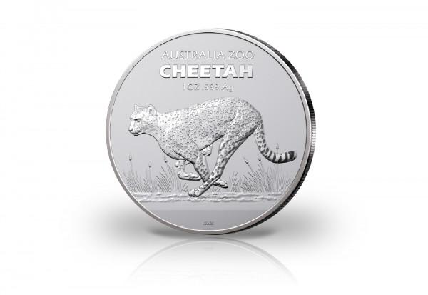 Australia Zoo Gepard 1 oz Silber 2021 Australien