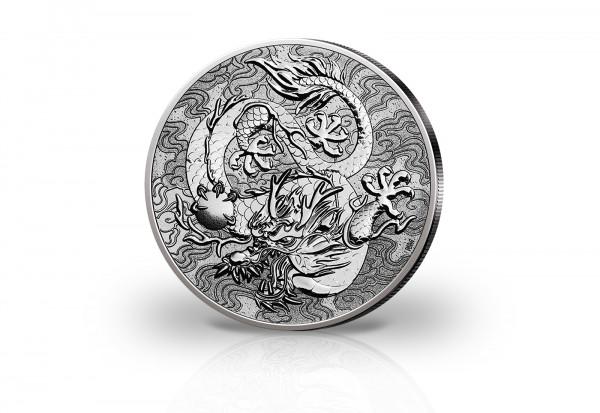 Drachen 1 oz Silber 2021 Australien
