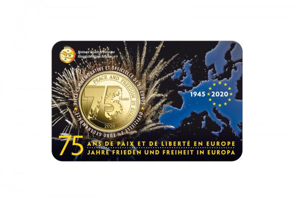2,5 Euro 2020 Belgien 75 Jahre Ende des 2. Weltkrieges st