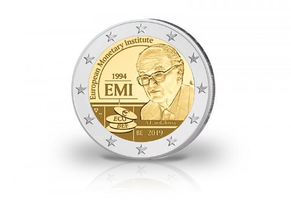 2 Euro 2019 Belgien 25 Jahre Europäisches Währungsinstitut in Coincard