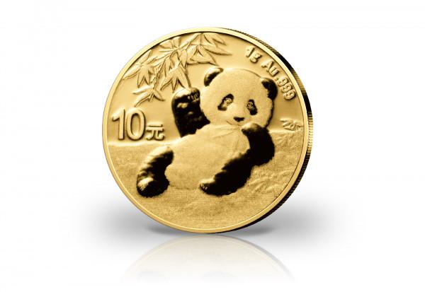 Panda 1 Gramm Gold 2020 China