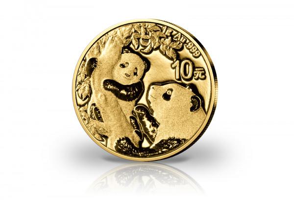 Panda 1 Gramm Gold 2021 China