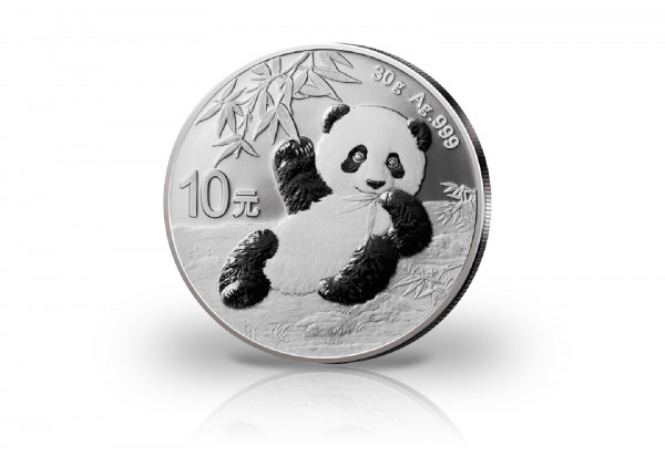 Panda 30 Gramm Silber 2020 China