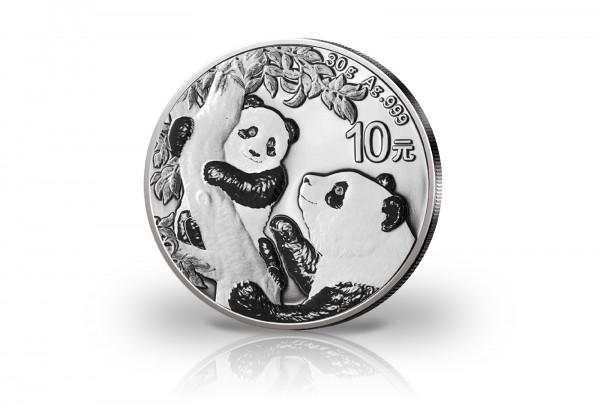Panda 30 Gramm Silber 2021 China