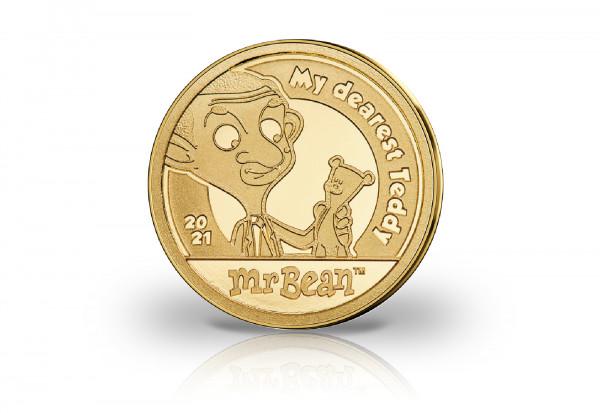 Mr Bean Mein liebster Teddy 0,5 Gramm Gold 2021