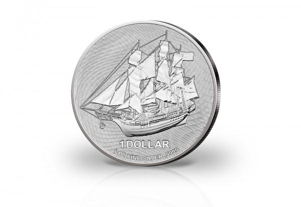 Bounty 1 oz Silber 2021
