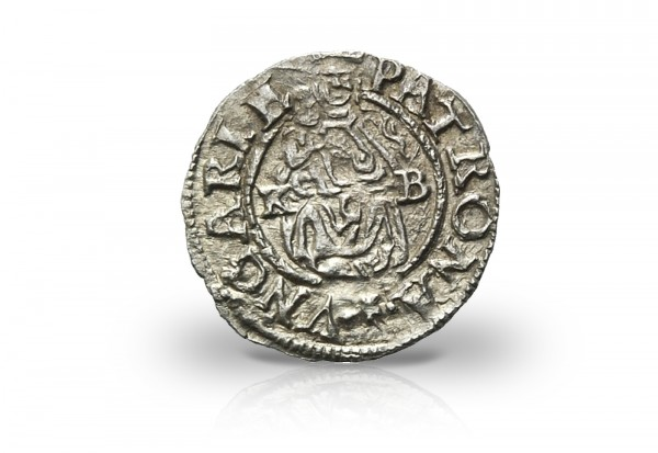 Denarius Silbermünze 1565 - 1576 Maximilian II. von Habsburg
