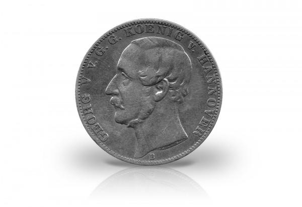 Vereinstaler 1857-1866 Hannover König Georg V. Thun 174