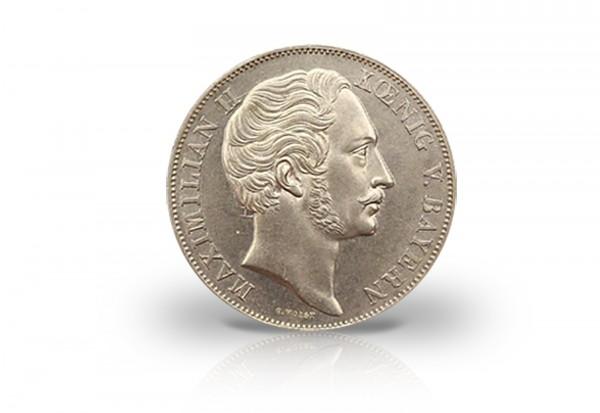Doppelgulden 1855 Bayern Maximilian II. Mariensäule Thun 97