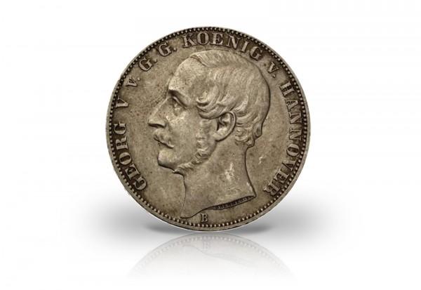 Hannover Taler 1865 50.Jahrestag Waterloo
