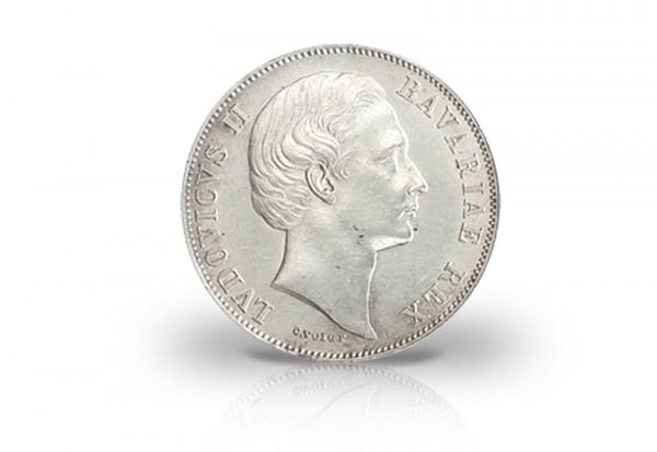 Vereinstaler 1866-1871 Königreich Bayern Ludwig II. Madonnentaler Thun 105 ss
