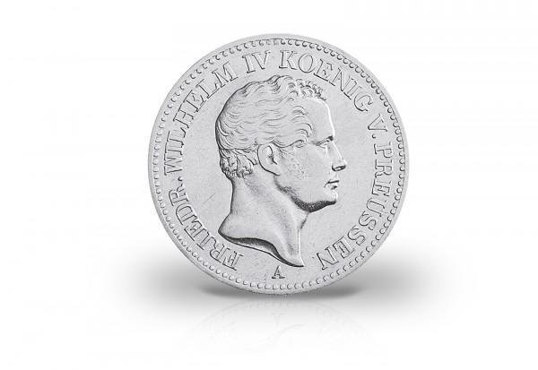Ausbeutetaler 1841 Preußen König Friedrich Wilhelm IV. Thun 255, AKS 73