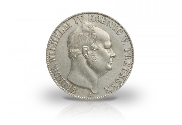 Taler 1853-1856 Preußen König Friedrich Wilhelm IV. AKS 76 Thun 260