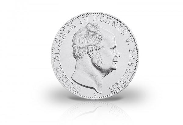 Ausbeutetaler 1853-1856 Kaiserreich König Friedrich Wilhelm IV. Preußen