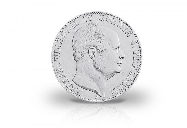 Ausbeutetaler 1857-1860 Preußen König Friedrich Wilhelm IV. Thun 263 , AKS 79