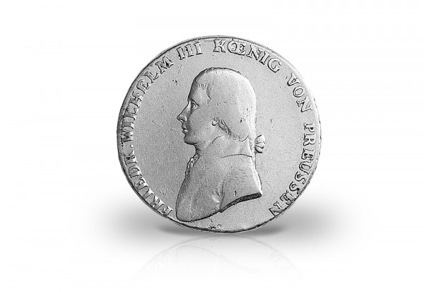 Taler 1800-1803 Preußen König Friedrich Wilhelm III. Thun 242