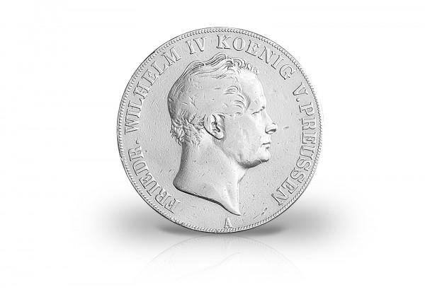 Doppeltaler 1841-1842 Kaiserreich König Friedrich Wilhelm IV. Preußen AKS 69 Thun 253