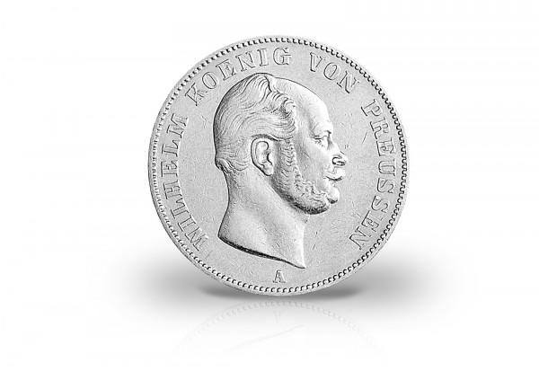Ausbeutevereinstaler 1861-1862 Preußen Wilhelm I. Thun 267