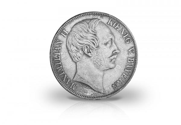 Vereinstaler 1857-1864 Bayern König Maximilian II. Thun 98