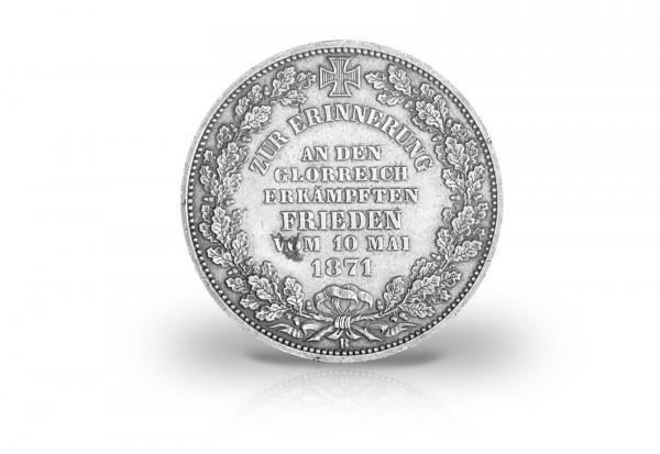 Siegestaler 1871 Freie Hansestadt Bremen Wappen Thun 127