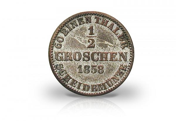 Groschen deutscher Staaten 1600-1871 Silber ss