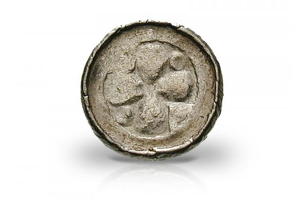 Sachsen Pfennig 10.- 11.Jh. Silber ss