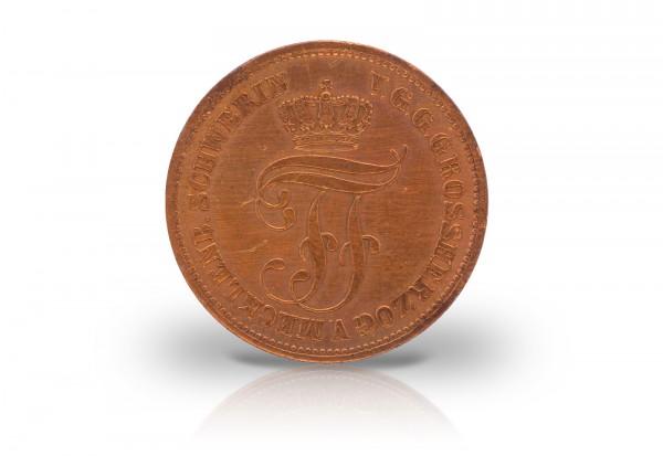 5 Pfennige 1872 Mecklenburg-Schwerin AKS 45
