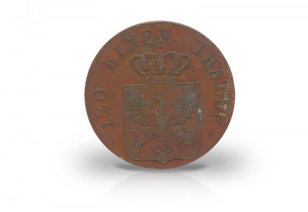 3 Pfennig 1821-1839 Preußen Wappenschild AKS 34