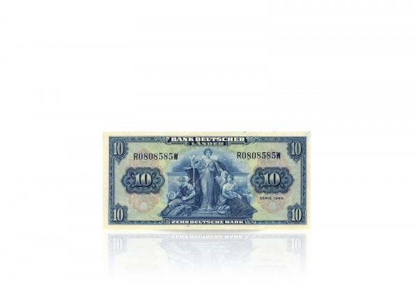 Deutschland 10 DM Banknote 1949 Rosenberg Nr. 258