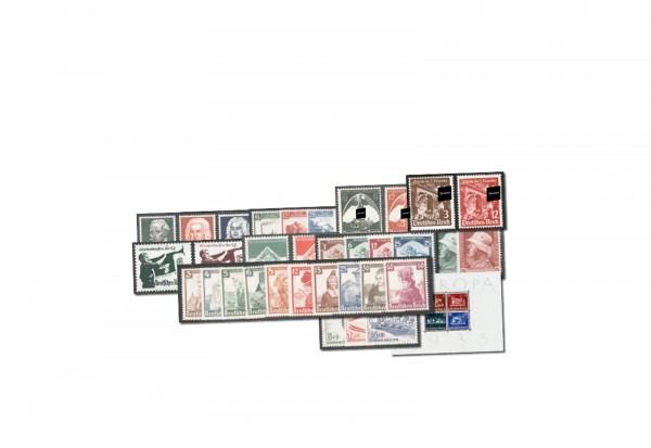 Deutsches Reich Mi.Nr. 565/602 Jahrgang 1935 postfrisch 34 Marken plus Block 3 (*)