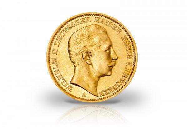 20 Mark Goldmünze 1888 Deutsches Kaiserreich Preußen Kaiser Wilhelm II. Jaeger-Nr. 250