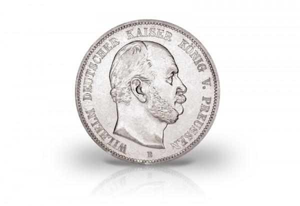 5 Mark 1874 Deutsches Kaiserreich Preußen Kaiser Wilhelm I. Prägestätte A Jaeger-Nr. 97