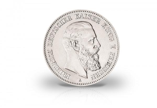 2 Mark 1888 Deutsches Kaiserreich Preußen Friedrich III. Jaeger-Nr. 98